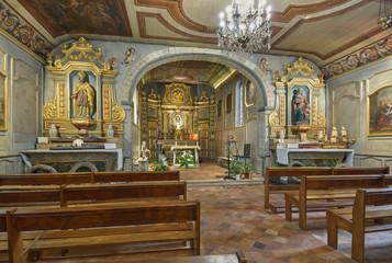 Chapelle des marins, basilique Notre-Dame, Arcachon, Gironde, France