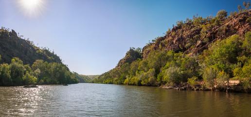 Katherine River Gorge Panorama, Northern Territory, Australia