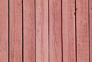 red color wood fence pattern.