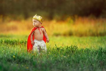 little baby king