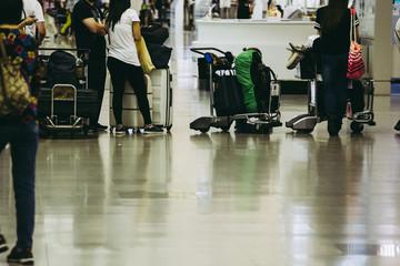 空港 旅行者