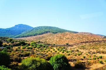 ワルザザード近郊の風景