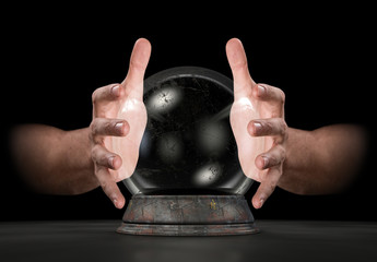 Hands On Crystal Ball