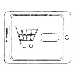 tablet device with ecommerce app
