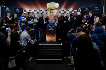 Boxing - Callum Smith and Erik Skoglund Weigh-In