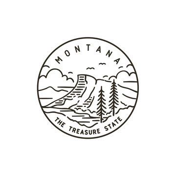 Montana. Rocky Mountains