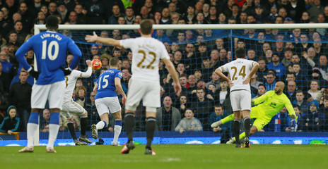 Everton v Swansea City - Barclays Premier League