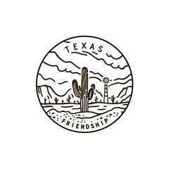 Texas. Desert.