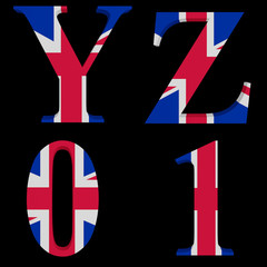 The Great British Alphabet Y,Z,0,1