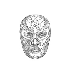 Lucha Libre Mask Tattoo