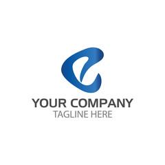 Creative Letter E logo design