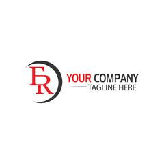 Creative Letter F and R logo Design