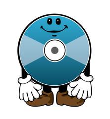 CD /DVD / blu-ray / media character illustration