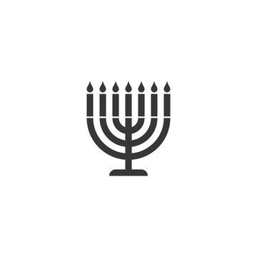 menorah silhouette icon