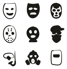 Mask Icons Freehand Fill