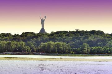 Motherland Monument in Kiev, Ukraine.