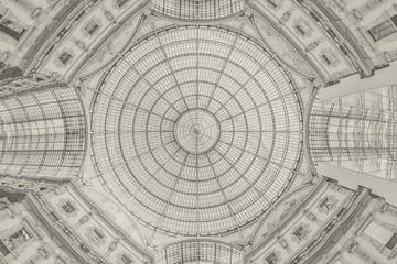 Galleria Vittorio Emanuele II - Milan - background Fototapete