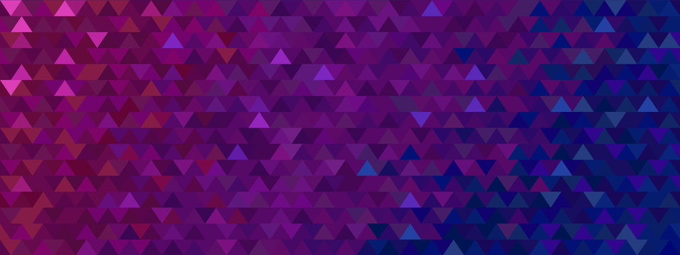 abstract triangle background vector with Lorem ipsum