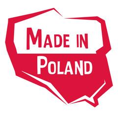 Obraz Made in Poland - fototapety do salonu