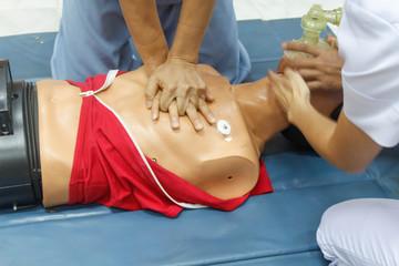 Demonstration of CPR