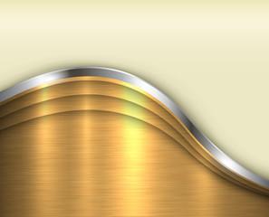 Background gold metallic