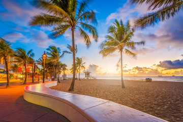 Fort Lauderdale Beach Florida Wall mural