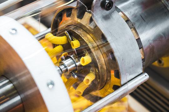 pasta machine dies brass factory industrial machinery called Trafila used for Trafilatura al bronzo (Bronze drawing)
