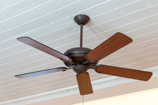 Modern wooden ceiling fan vintage style decoration