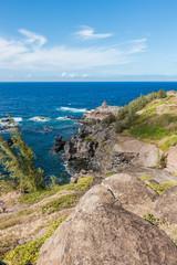 Rocky Maui Shoreline