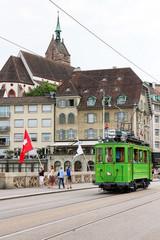 Tramway in Basel - Switzerland