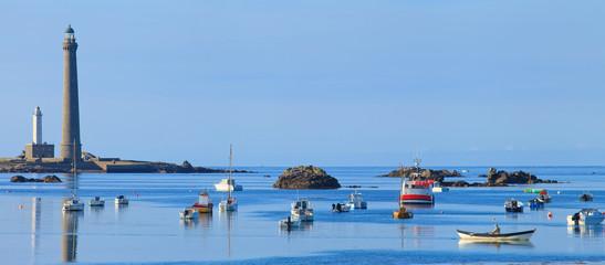 Plouguerneau, Phare de île vierge, Finistère, Bretagne