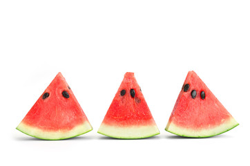watermelon slice isolate on white background