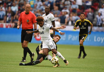 MLS: Columbus Crew SC at Vancouver Whitecaps FC