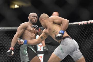 MMA: UFC Fight Night-Pittsburgh- Usman vs Moraes