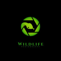Wildlife photography logo