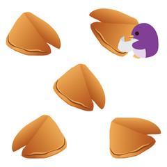 フォーチュンクッキーとペンギン