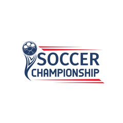 Soccer or football sport game competition symbol