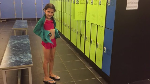 Girls locker room gloryhole