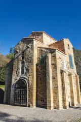 Iglesia de San Miguel de Lillo, Oviedo, Principado de Asturias, España