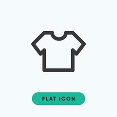 Tshirt textile vector icon