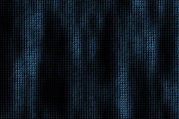 Generative data digital stream background. Vector illustration. Concept of blockchain, fintect, big data, hacking, AI