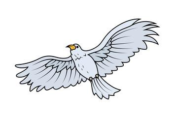 Eagle - vector clip-art illustration