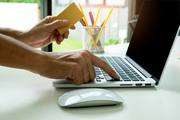 Pay your credit card online with a laptop,Shop online with laptop,pay by credit card.