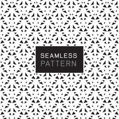 seamless pattern with simple line geometric concept on white background.