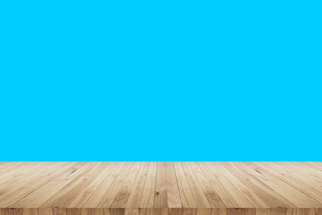 Wood and colored background
