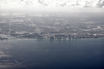 fort lauderdale view from above