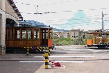 voyage, train, gare