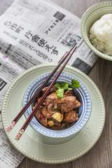 Chicken in Sichuan