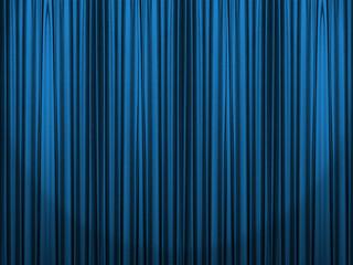 青のステージ 背景
