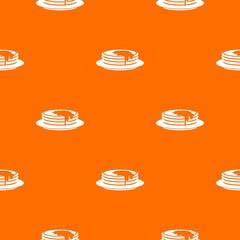 Pancakes pattern seamless